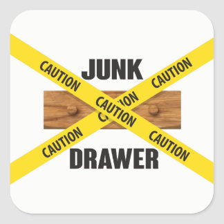 Junk Drawer Sticker