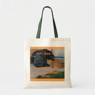 Junk Food Kitty-Grocery Bag