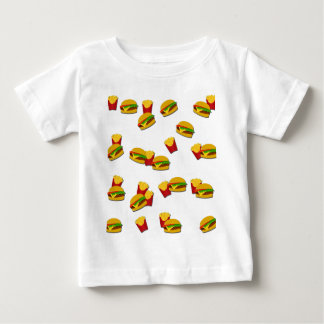 Junk food pattern baby T-Shirt