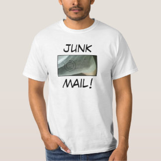 JUNK MAIL! - Anthony Weiner T-Shirt