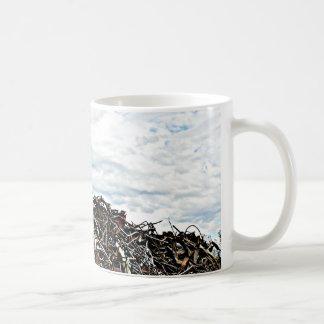 Junk Yard Scrap Metal at Depot Coffee Mug