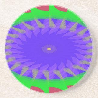 Junked Metamorphosis Pattern Coaster