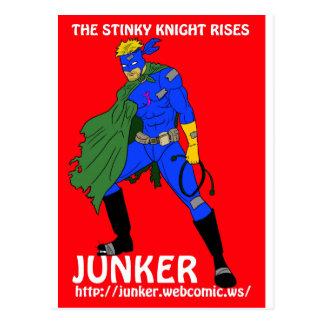 Junker web comic postcard