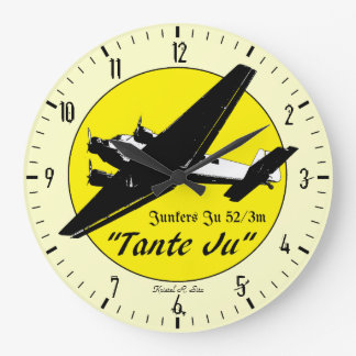 Junkers Ju 52 Large Clock