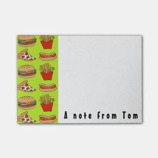 Junkfood Post-it note pad