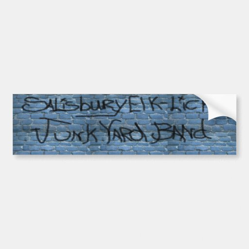 JunkYard Band Bumper Stickers