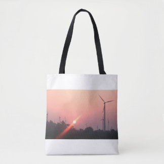 JunLeo_designs tote bag- Sunrise