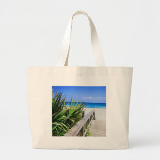 Juno Beach Florida Large Tote Bag