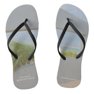 Juno Beach Normandy France Flip Flops
