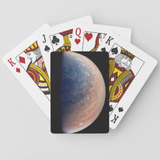 Juno from the side playing cards
