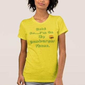 JUNO Hamburger Phone. T-Shirt