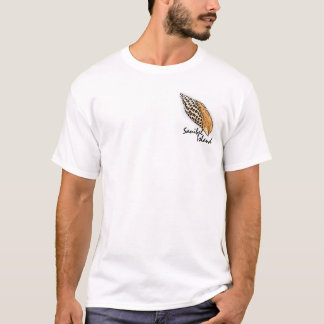 Junonia shell Sanibel Florida humor guys tee