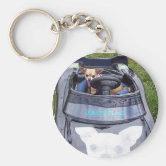 Juno's Car Keychain