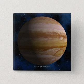 Jupiter 15 Cm Square Badge