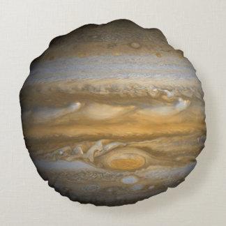 Jupiter - 2 Unique Sides - Round Cushion