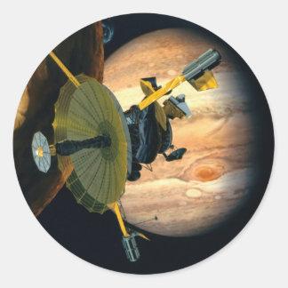 Jupiter and Lo Round Sticker