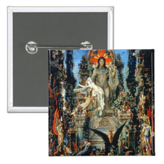 Jupiter and Semele, 1894-95 (oil on canvas) Button
