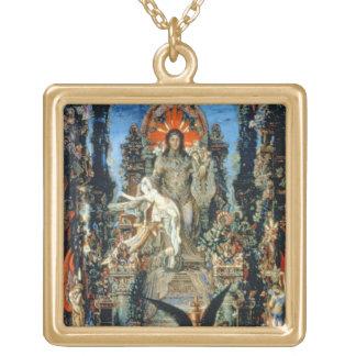 Jupiter and Semele, 1894-95 (oil on canvas) Pendant
