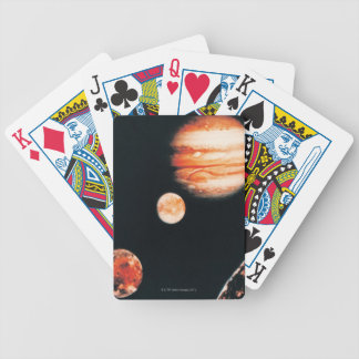 Jupiter and The Galilean Satellites Bicycle Playing Cards