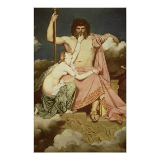 Jupiter and Thetis, 1811 Poster