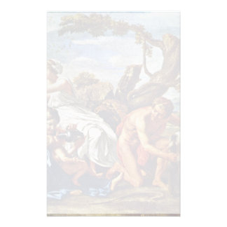 Jupiter As A Child, Nurtured By The Goat Amalthea Personalized Stationery