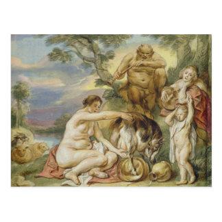 Jupiter as a Child Postcard