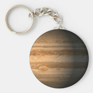 Jupiter Basic Round Button Key Ring