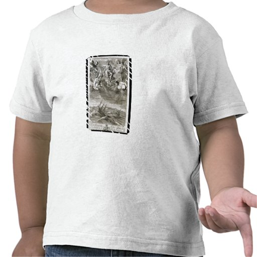 Jupiter Casts a Storm Upon the Ocean, illustration Tshirt