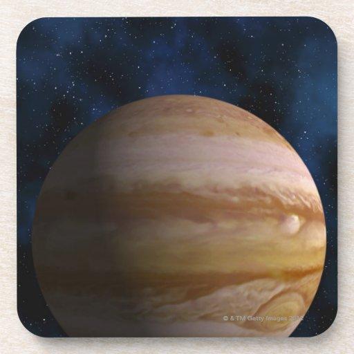 Jupiter Beverage Coasters