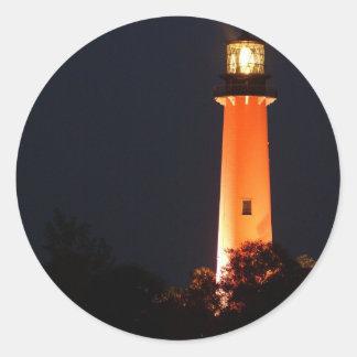 Jupiter Evening Shot_ Classic Round Sticker