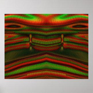 Jupiter face print