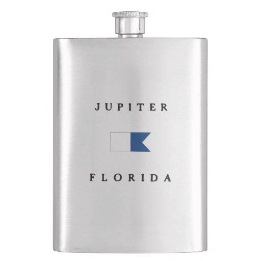 Jupiter Florida Alpha Dive Flag Flasks
