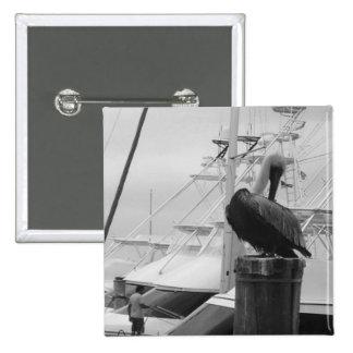 Jupiter, Florida Boat Marina & Pelican pin