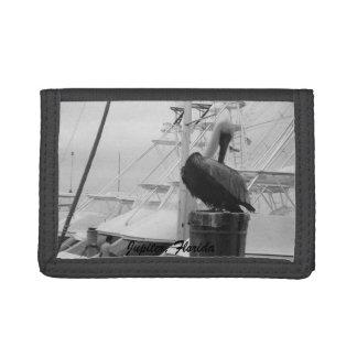 Jupiter, Florida Boat Marina & Pelican Wallet