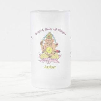 Jupiter Frosted Glass Mug