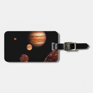 Jupiter Galilean Satellites NASA Tag For Bags
