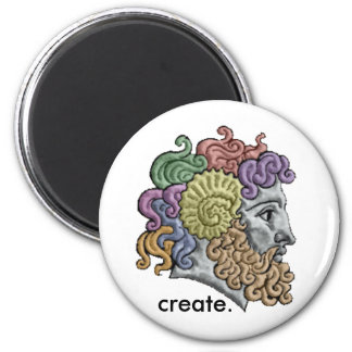 Jupiter Head Create Magnet