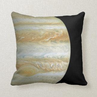Jupiter Hemisphere Throw Pillow