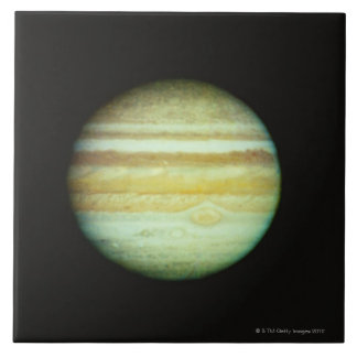 Jupiter in True Color Large Square Tile