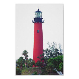 JUPITER INLET LIGHT POSTER