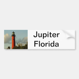 Jupiter Inlet Lighthouse Bumper Sticker
