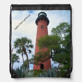 Jupiter Inlet Lighthouse & Museum Jupiter Florida Drawstring Bag