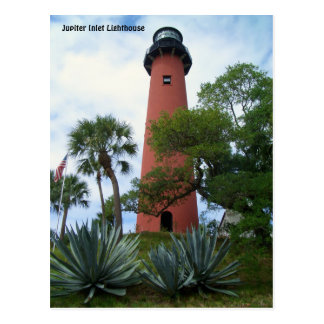 Jupiter Inlet Lighthouse & Museum Jupiter Florida Postcard