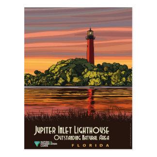 Jupiter Inlet Lighthouse Postcard