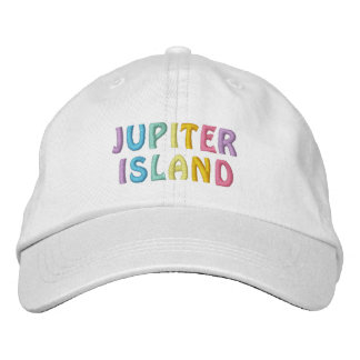 JUPITER ISLAND cap Embroidered Hats