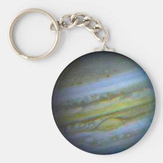 Jupiter Keychain Basic Round Button Keychain