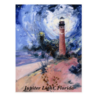 Jupiter Light, Fl Postcard