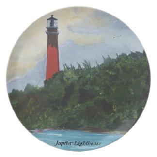 Jupiter Lighthouse Dinner Plate