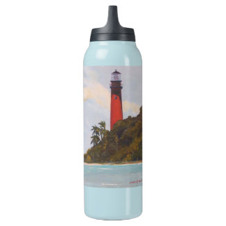 Jupiter Lighthouse Insulated Water Bottle 0.5 Litre Insulated SIGG Thermos Water Bottle