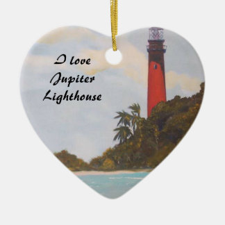 Jupiter Lighthouse Ornament